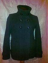Kabáty - Šedý športovo-elegantný kabátik - 1068478