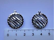 Komponenty - KPr-kruh 2cm-platina-1ks - 1075160