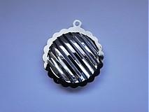 Komponenty - KPr-kruh 2,8cm-platina-1ks - 1075183