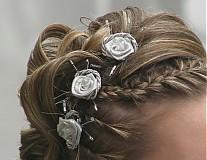 Ozdoby do vlasov - kvietky do vlasov - 107523