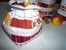 Úžitkový textil - Patchworkový mech - 1079735