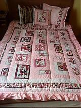 Úžitkový textil - Patchworkové prikrývky - 1080004