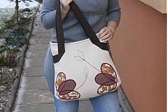 Veľké tašky - Malovaná jehlou :-))) - 1085572