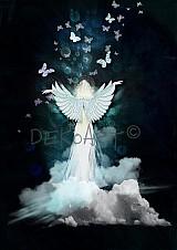 Grafika - Butterfly angel - 1086942