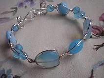 Náramky - Modrý valentín - 1088959