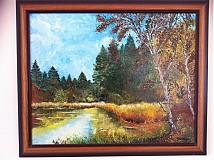 Obrazy - Lesné jazero  - 1092597