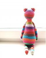 Hračky - Háčkovaný medvedík - 1093119