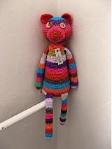 Hračky - Háčkovaný medvedík - 1093183