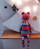 Hračky - Háčkovaný medvedík - 1093207