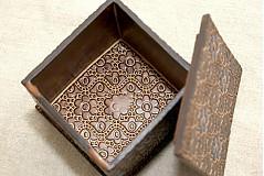 Krabičky - Šperkovnica čipková - 1094290