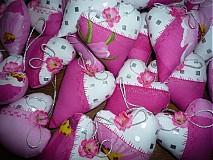 Darčeky pre svadobčanov - Srdiečka pre potešenie - 1103784