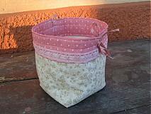 Úžitkový textil - Bodka a motýlik  - 1103894