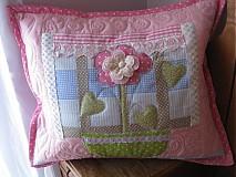 Úžitkový textil - Kvetinka v okne - 1104485