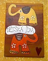 Tabuľky - menovka na dvere -DETSKÁ IZBA - 1113027