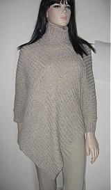 Iné oblečenie - Rolákové pončo s rukávmi - 1116851