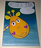 Tabuľky - menovka na dvere -DETSKÁ IZBA - 1120225