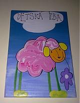 Tabuľky - menovka na dvere -DETSKÁ IZBA - 1120229