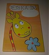 Tabuľky - menovka na dvere -DETSKÁ IZBA - 1120265