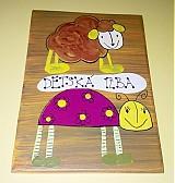 Tabuľky - menovka na dvere -DETSKÁ IZBA - 1120880