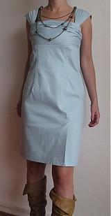 Šaty - AKCIAA Šaty imitácia rifloviny - 1121464