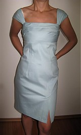 Šaty - AKCIAA Šaty imitácia rifloviny - 1121466