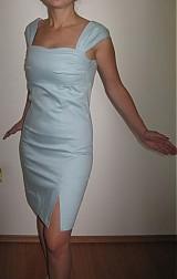 Šaty - AKCIAA Šaty imitácia rifloviny - 1121474