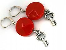 Náušnice - HM-014-Kľúče od 13.komnaty - 1124598