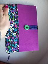 - fialový zápisník akcia zo 7.90 - 1128055
