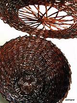 Košíky - Paplet- košík s vekom - 1145159