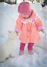 """Detské oblečenie - Kabátik pre malú """"cicušku"""" :-) - 1148427"""