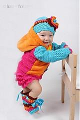 Detské oblečenie - Zmiešaná bundička-pestrá - 1154900