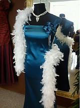 Šaty - spoločenské s brošňou - 1165800