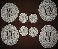 Úžitkový textil - Prestieranie háčkované /2x2/ - 1172384
