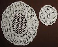 Úžitkový textil - Prestieranie háčkované /2x2/ - 1172391