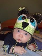 Detské čiapky - hačkované čiapky - 1172784