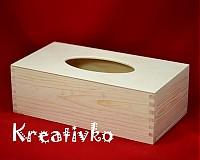 - Krabička na vreckovky - podlhovastá - 1173031
