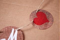 Tabuľky - Na svadobné fotenie - reťaz s iniciálmi - 1174186
