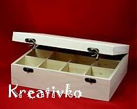 - Čajová krabica: 12-priehradková (antický uzáver) - 1174636