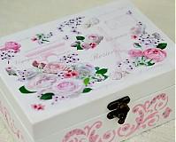 - Šperkovnica, alebo čajová krabica : 6-priehradková - 1175124