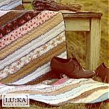 Úžitkový textil - Vrabčiaky na priedomí - prikrývka - 117937