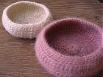 Košíky - ružovokrémová dvojka bárčodomňahoďov - 1184502
