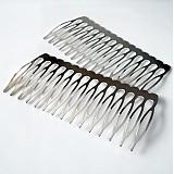- Kovový hrebienok do vlasov 39x64 mm - 1199306