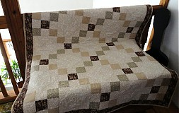 Úžitkový textil - Biela káva s čokoládou - 1202568