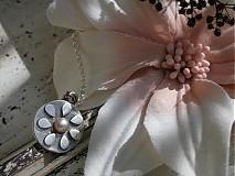 Náhrdelníky - Margarétka prívesok - 1205850