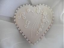 Darčeky pre svadobčanov - Svadobný medovník č.1 - 1207586