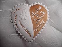 Darčeky pre svadobčanov - Svadobný medovník č.3 - 1207606