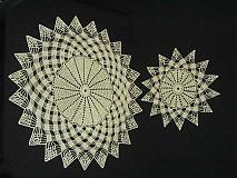 Úžitkový textil - Háčkovaný obrus - 1213822