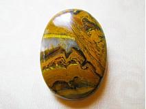 Minerály - tigrie železo, 33 x 24 x 5 mm - 1218526