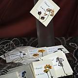 Darčeky pre svadobčanov - KVITNÚCA LÚKA visačky/poďakovania - 1225285