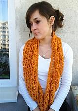 Šály - Oranžový...SKLADOM - 1235585